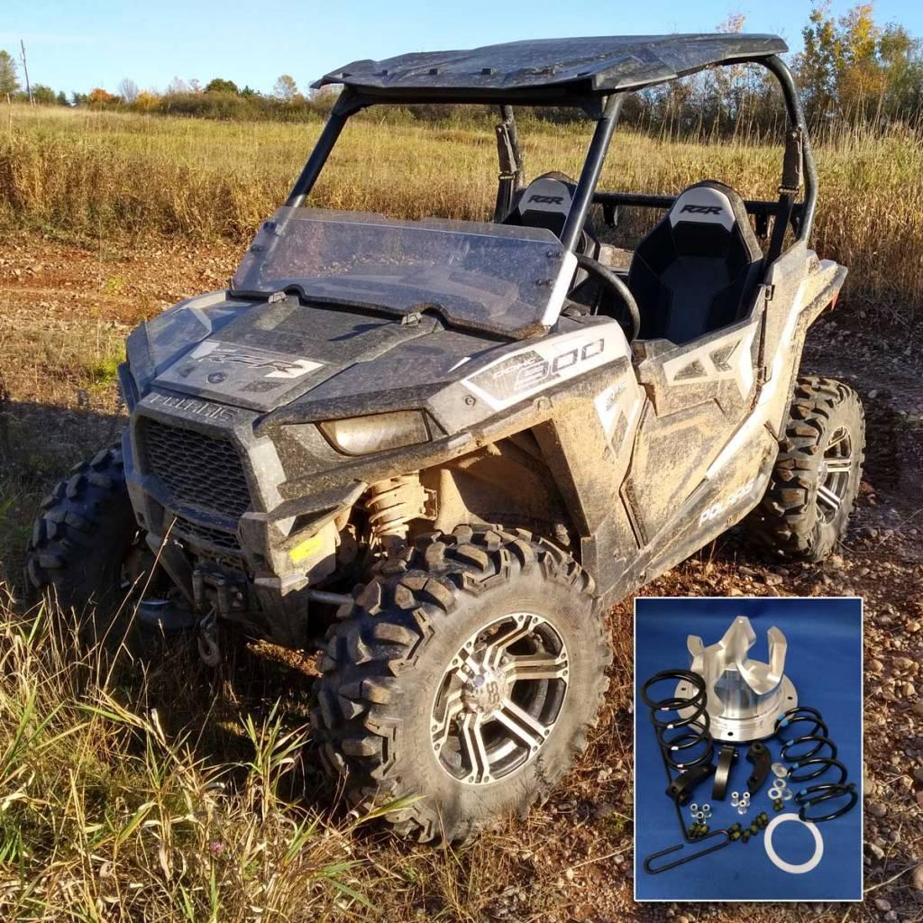 Adjustable clutch kit for the 2016-2019 Polaris 900cc RZR