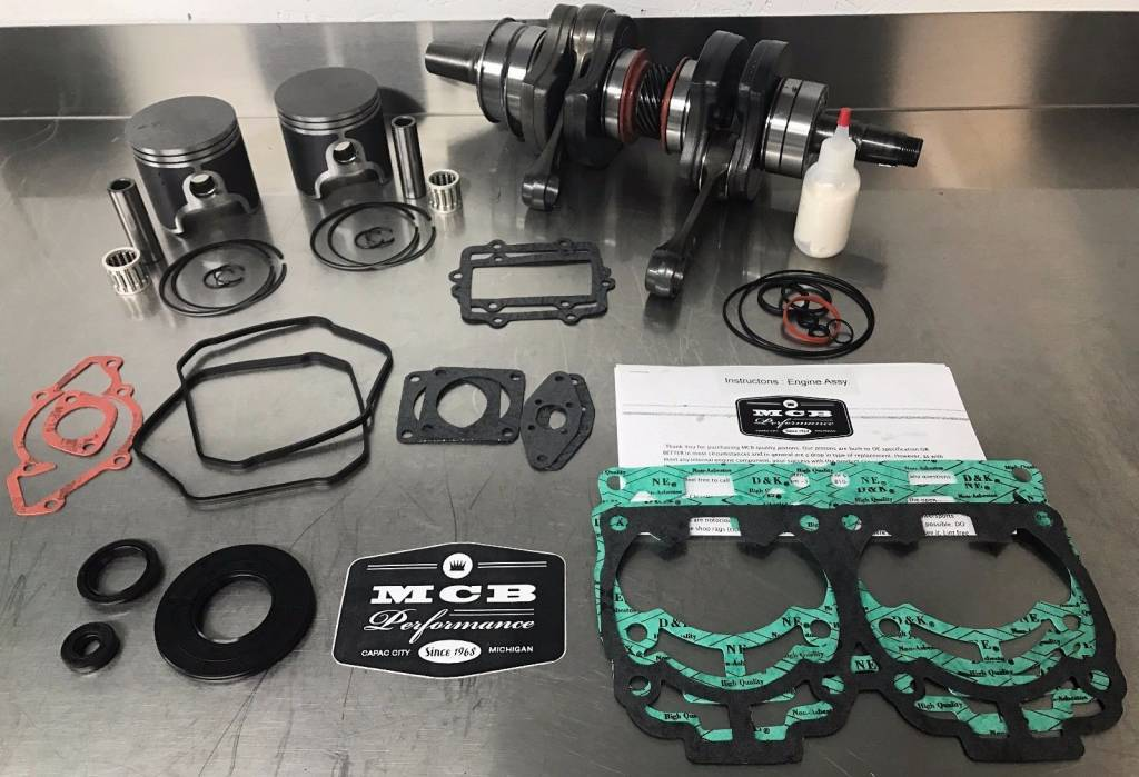 Snowmobile - MCB Engine Rebuild Kits: STAGE - 2 SKIDOO