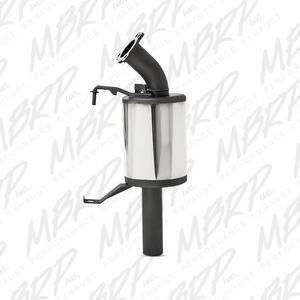 MBRP Exhaust - 2014-2018 YAMAHA Viper (All Models) Trail Canister, slip-on - MBRP #: 333T805 - Image 1