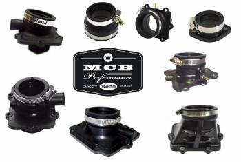 SKI DOO - 1000 MACH Z ADRENALINE MX Z - INTAKE FLANGE CARB BOOT #420-6670-65
