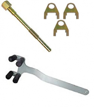 TRA - SKI-DOO TRA CLUTCH PULLER & HOLDER TOOL w/ CLIPS 1998-2016 500/600/700/800 - Image 1
