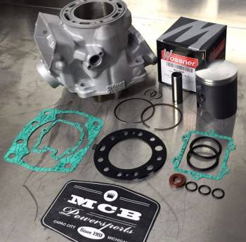1999-2016 Yamaha YZ250 Wossner Top End Rebuild Kit Replated Cylinder