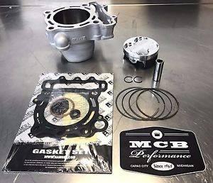 MCB - 2012 Kawasaki KX250F Wossner Top End Rebuild Kit Piston Replated Cylinder 11005-0586 - Image 1