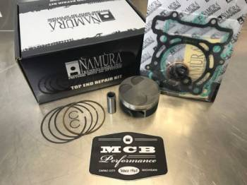 MCB - 2010-2014 KAWASAKI KX250F Namura Top End Rebuild Piston Kit - (STD) 76.95mm - Image 1