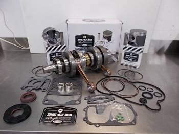 MCB - MCB Engine Kit Stage-2 Crankshaft &  CAST DUAL-Ring Piston Kit POLARIS 700 IQ/RMK/SWBK 2007-2010 - Image 1