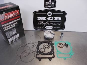 Wossner Pistons - Wossner Forged Piston Top-End rebuild kit Kawasaki '09-12 KX450F - Image 1