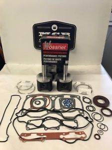 Wossner Pistons - Ski Doo Mach Z 1000 FORGED Wossner Piston & Gasket kit 2005 and up - Image 1