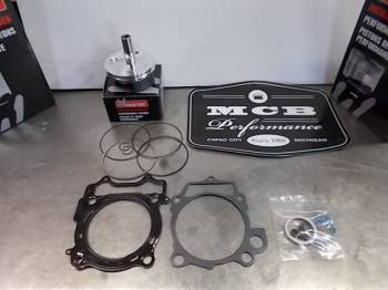 Wossner Pistons - Wossner Forged Piston Top-End rebuild kit Suzuki '10-17 RMZ250