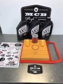 MCB - Can Am BRP Maverick 1000 Full service oil change kit air filter spark plugs - Image 1