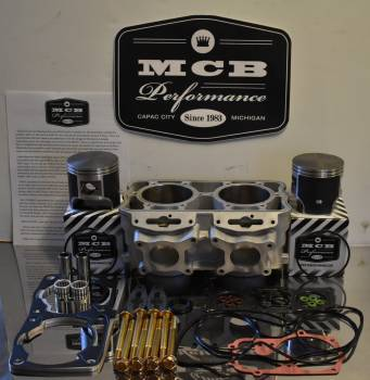 2012-15 Polaris 800 Piston kit Dragon Switchback Pro RMK fix it kit w/ cylinder - CAST