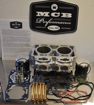 2008 2009 Polaris 800 Piston kit IQ Dragon Switchback RMK fix it kit w/ cylinder - FORGED