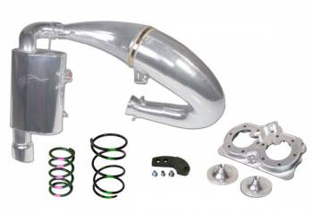 SLP - Starting Line Products - 2015-19 Polaris 800 Axys Models Single Pipe Set Stage 3 - Image 1