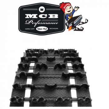 Camso Camoplast - CAMSO 154 X 1.60 15 WIDE 2.86 PITCH COBRA RACING TRACK - Image 1
