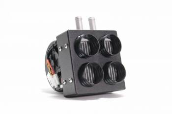 2013-2018 Can-Am Maverick Inferno Cab Heater with Defrost – Direct Fit Hidden - Image 1
