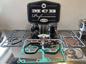 MCB - Ski Doo 850cc GEN 4 ETEC MCB CAST TOP END PISTON REBUILD KIT - Image 1