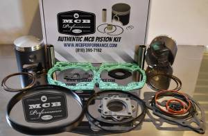 MCB Dual Ring Pistons - Ski Doo 670 HO - SUMMIT X / MXZ - MCB DUAL RING PISTON KIT - Image 1