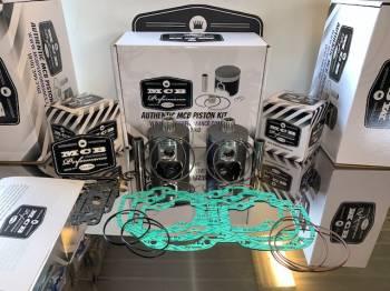 MCB - Dual Ring Pistons - Ski Doo 550cc - MCB PISTON KITS - Image 1