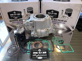 MCB - Kawasaki KX250 Wossner Piston Top End Rebuild Kit with Replated Cylinder - Image 1