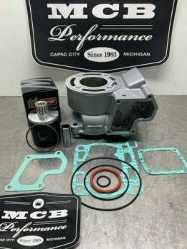 Wossner Pistons - 2005-2020 Suzuki RM85 Complete Top End Piston Kit with gaskets and new cylinder 03B3 11200-03830. - Image 1