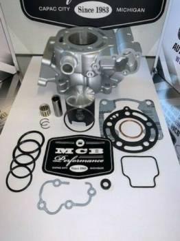Kawasaki - 2006-2013 Kawasaki KX100 Top End Piston Kit with gaskets and OEM  replated cylinder. - Image 1