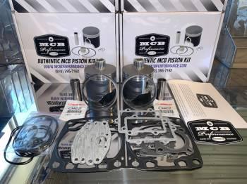 MCB - Dual Ring Pistons - Arctic Cat 800 HO  - MCB PISTON KITS - Image 1