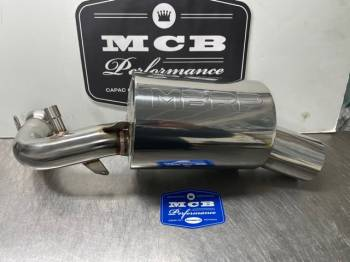 MBRP Exhaust - 2019-2021 Polaris AXYS Chassis 850 TRAIL SILENCER EXHAUST - 430T209 - Image 1