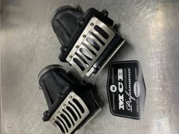 Ski Doo 600 ETEC throttle body socket / boot reed valve assembly (sold individually) - Image 1
