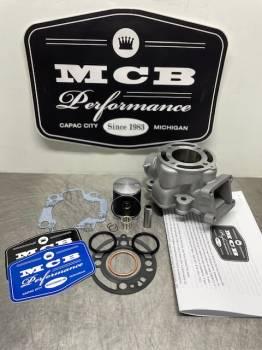 MCB Stage 1 Kawasaki KX 65, KX65 Piston kit, top end rebuild kit WITH CYLINDER.2002 2003 2004 2005 2006 2007 2008 2009 2010 2011 2012 2013 2014 2015 2016 2017 2018 2019 2020 - Image 1