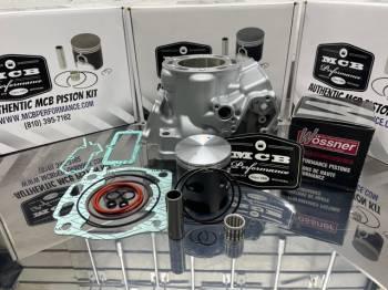 MCB - 1999-2021 Yamaha YZ250 Wossner 8216DA 66.35mm Top End Rebuild Kit Re-plated Cylinder 5UP-11311-21-00 - Image 1