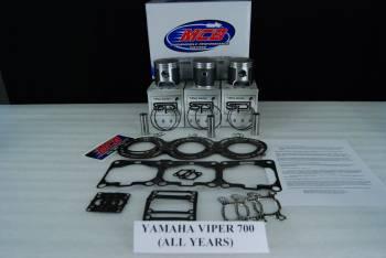 MCB-Dual Ring Pistons - Yamaha 700cc - MCB PISTON KITS - Image 1