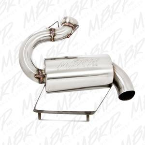 MBRP - Arctic Cat - MBRP Exhaust - 2007-2011 ARCTIC CAT CrossFire 600 - MBRP #: 2220210