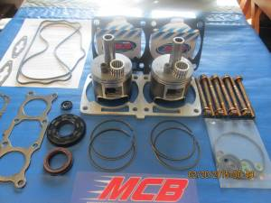 MCB Piston /Top End Kits:  Stage -1  - POLARIS - MCB - 2008 2009 Polaris 800 Piston kit IQ Dragon Switchback RMK fix it durability kit