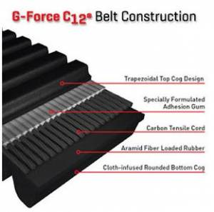 Snowmobile - Belts - Gates G-force C12 Carbon CVT Drive Belts