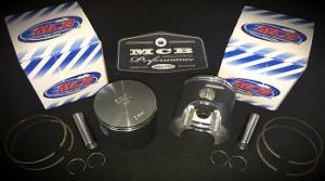 MCB Piston /Top End Kits:  STAGE -1  - SKI DOO  - Ski Doo MCB 600 NON-HO / 500SS Dual Ring Piston kit WITH GASKETS!