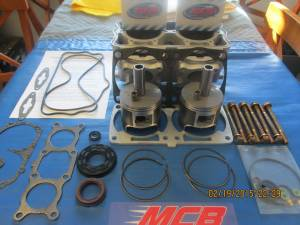 Piston Kits - POLARIS - 2008 2009 Polaris 800 Piston kit IQ Dragon Switchback RMK fix it kit w/ cylinder - FORGED
