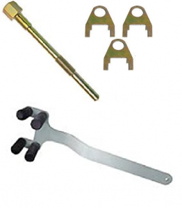 Clutching - Tools - SKI-DOO TRA CLUTCH PULLER & HOLDER TOOL w/ CLIPS 1998-2016 500/600/700/800/850