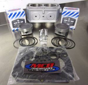 ATV/UTV Engine Rebuild Kits - Polaris - 2005-2013 Polaris RZR, Ranger, Sportsman - Top End Rebuild Kit w/ Cylinder