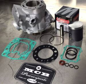 MX Top End Kits - Yamaha - MCB - 1999-2016 Yamaha YZ250 Wossner Top End Rebuild Kit Replated Cylinder