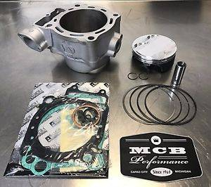 MX Top End Kits - Honda - MCB - 2002-2003 Honda CRF450R Wossner Top End Rebuild Kit Replated Cylinder MEB