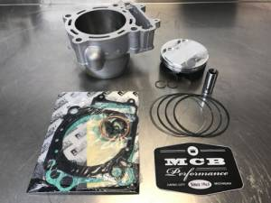 MX Top End Kits - Kawasaki - 2009-10 Kawasaki KX450F Wossner Top End Rebuild Kit Replated Cylinder 11005-0129
