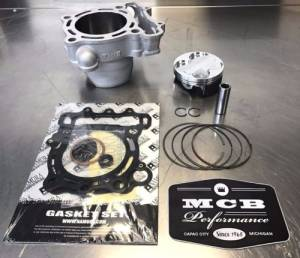 MCB - 2006-08 Kawasaki KX250F Wossner Top End Rebuild Kit Replated Cylinder 11005-0069