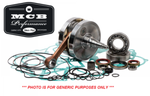 MX Crankshafts - Honda - MCB - 1989-2001 Honda CR500R - Hot Rods Crankshaft Complete Bottom End Rebuild Kit