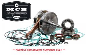 MX Crankshafts - Honda - 1989-2001 Honda CR500R - Hot Rods Crankshaft Complete Bottom End Rebuild Kit