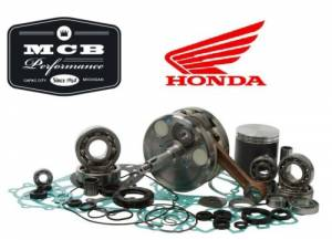 MX Engine Rebuild Kits - HONDA - 2005-2007 Honda CR85R Complete Engine Rebuild Kit Crank, WISECO Piston, Gaskets