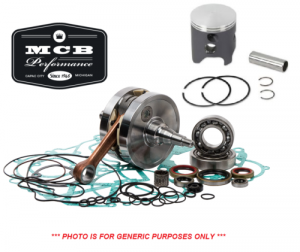 MX Crankshafts - Honda - MCB - 1986-1991 Honda CR80R - Complete Engine Rebuild Kit Crankshaft, Piston, Gaskets