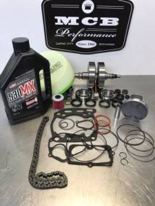 MX Engine Rebuild Kits - SUZUKI - MCB - 2009-2013 Suzuki LTZ 400 Complete engine rebuild Crank Bearing piston oil filter etc