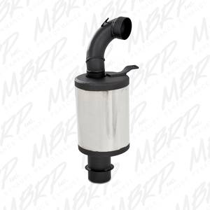 MBRP Exhaust - 1997-2003 YAMAHA V-Max / Mountain Max Twin 500 / 600 / 500SXR(Twin engine) MBRP # 3055110