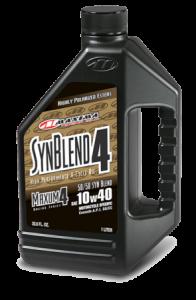 Oil - Maxima Syn-Blend 10w40  1-Liter