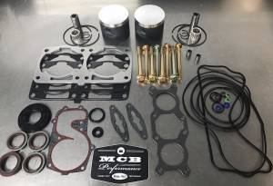 MCB Dual Ring Pistons - 2008 2009 Polaris 800 Piston kit IQ Dragon Switchback RMK fix it durability kit - FORGED - Image 1