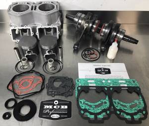 SNOWMOBILE - MCB Engine Rebuild kits:   STAGE - 3 SKIDOO - MCB - MCB Stage-3 FORGED engine rebuild kit Ski-Doo Mach Z 2005-2007 1000cc.